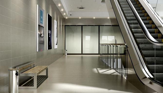 Aranżacja przestrzeni w galerii handlowej