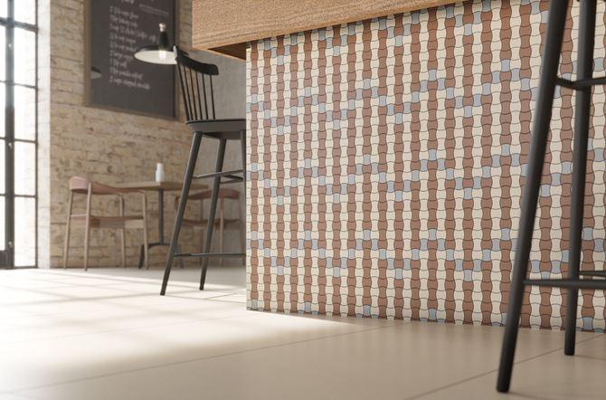 Modernizm bianco mix B 30,86x30,86_bianco 59,8x59,8 restauracja detal.jpg
