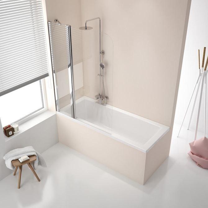 W nowoczesnych wnętrzach minimalistyczna forma szklanej tafli również może być ozdobą. Fot. Excellent