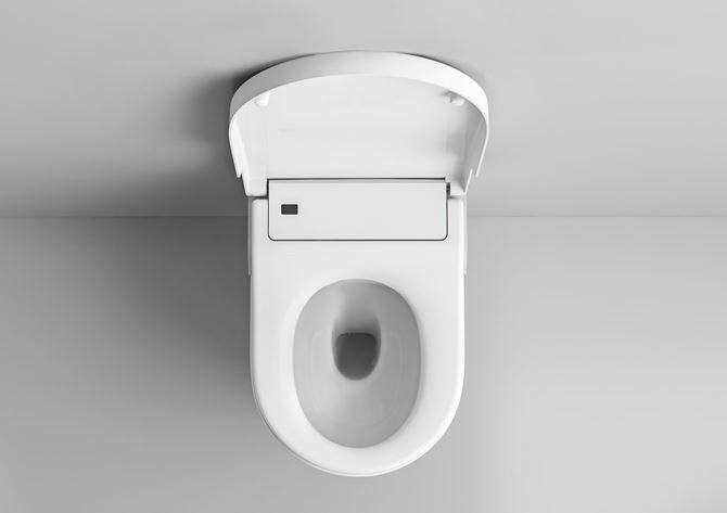 Podwieszana toaleta myjąca Rimless Roca Inspira