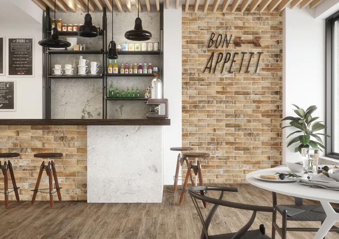 Przytulna kawiarnia w stylu skandynawskim