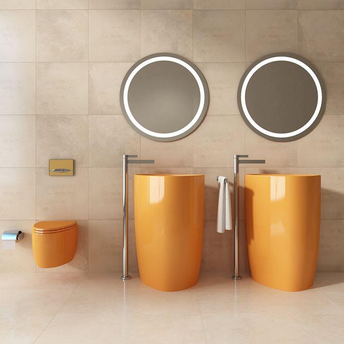 Pomarańczowa ceramika Bocchi Etna