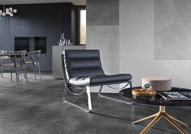 Elegancki kamień w salonie - Cerrad Tacoma
