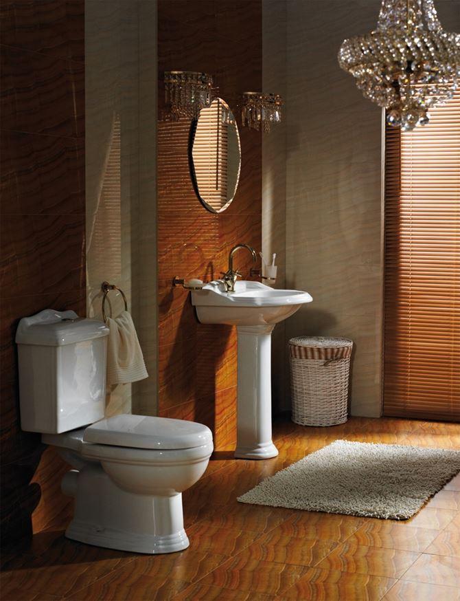 Elegancka łazienka z kolekcją Modern