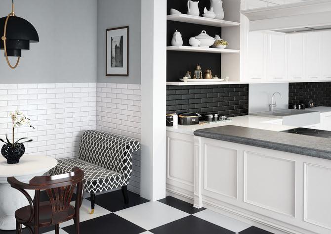 Kontrast czerni i bieli w kolekcji Cerrad Foggia