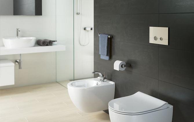 Aranżacja łazienki Cersanit Stero
