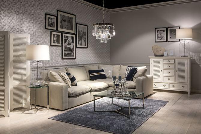 Salon w serii Hamptons Getaway Miloo Home