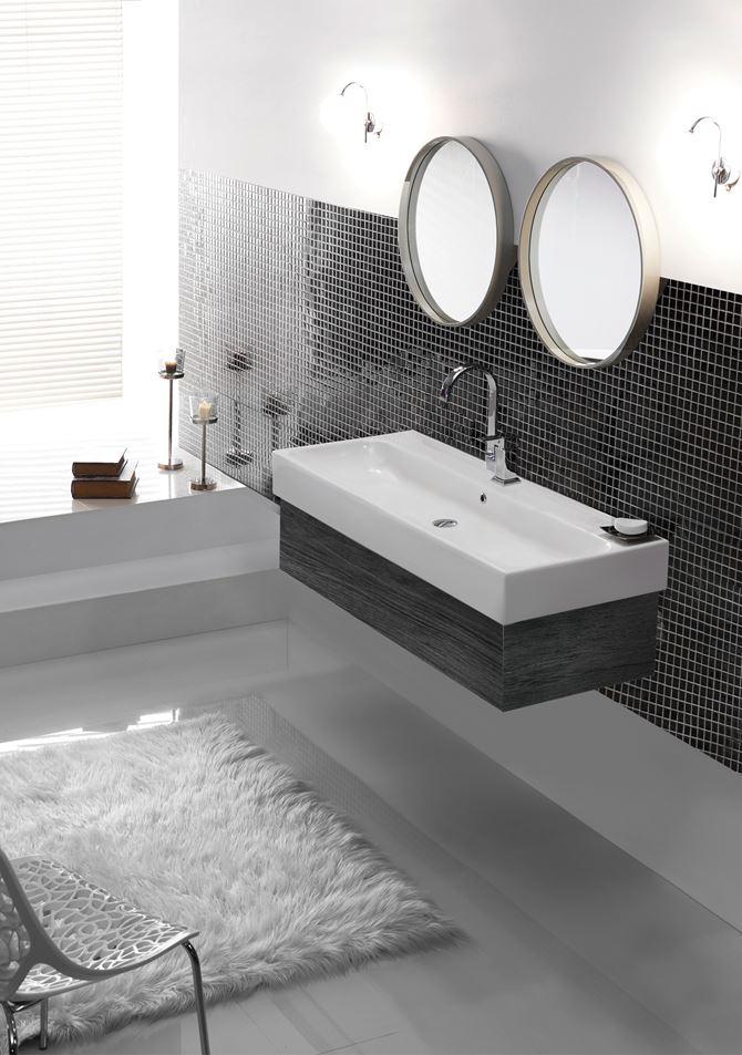 Umywalka CeraStyle Pinto w łazience