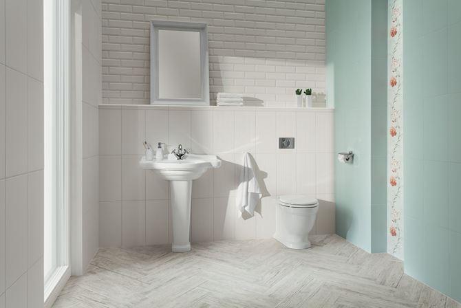 Retro łazienka Domino Delice