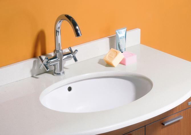 Umywalka podblatowa Berna Roca
