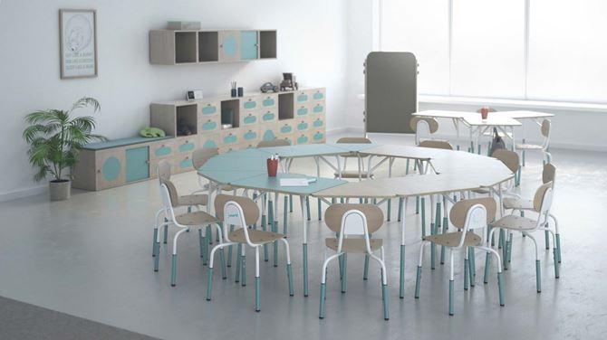 Zestaw mebli szkolnych dla firmy PILCH z Ustronia zaprojektowany przez firmę ALGORYTM DESIGN, projektanci Klaudia Gołaszczyk, Michał Biernacki, Paweł Mularczyk.jpg