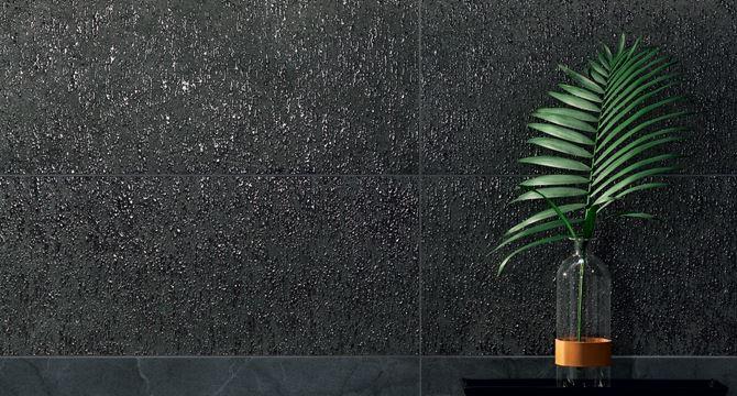 Tubądzin Organic matt 1 STR - Szary dekor ścienny