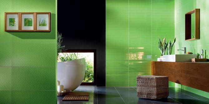 Wyrazista zieleń w kolekcji Tubądzin Colour Green