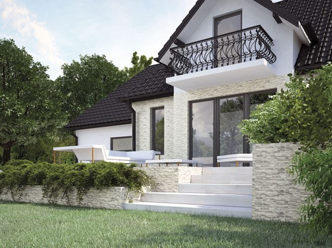 Projekt domu z kolekcją Cerrad Aragon