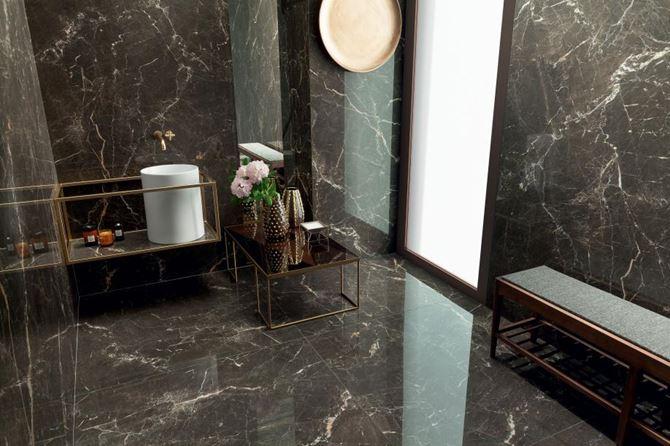 Marmurowa łazienka Tubądzin Duke Stone