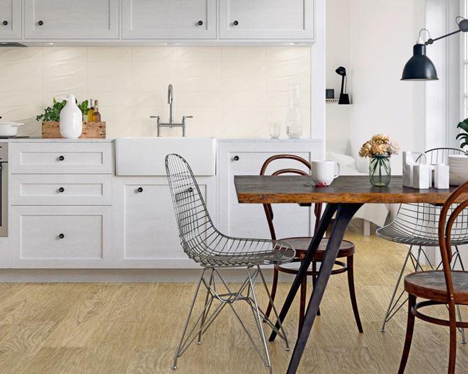 Kolekcja Paradyż Tenone - biel w kuchni