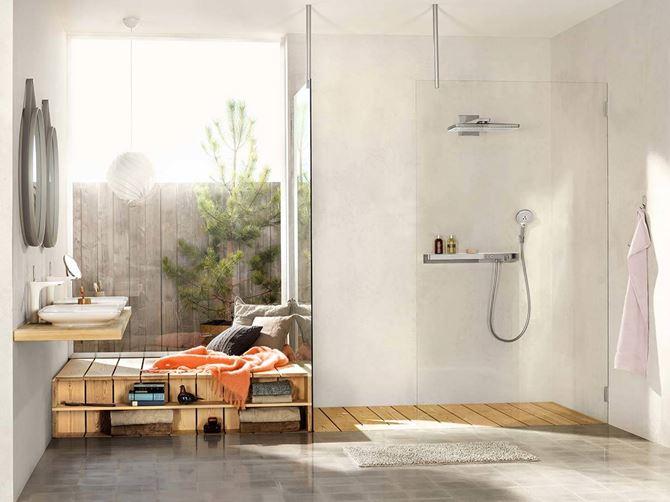Łazienka z pomysłem Hansgrohe Rainmaker