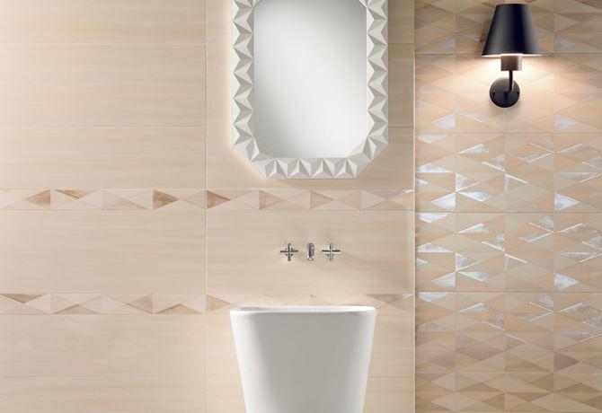 Tubądzin Nursa ecru - mozaikowa dekoracja