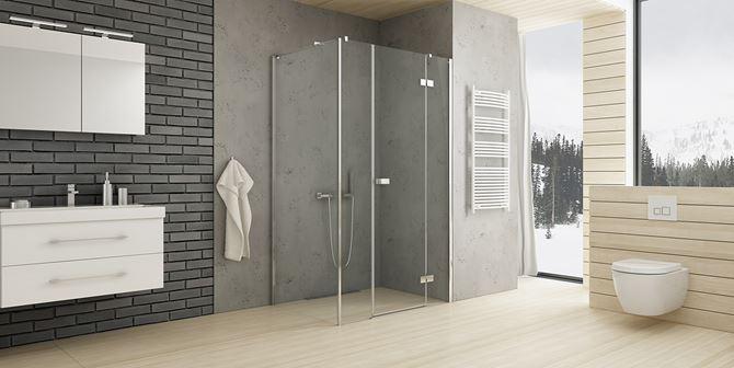 Aranżacja łazienki z linią New Trendy Reflexa
