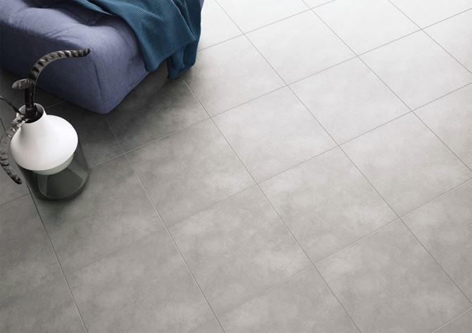 Podłoga w salonie Ceramika Gres Spargo