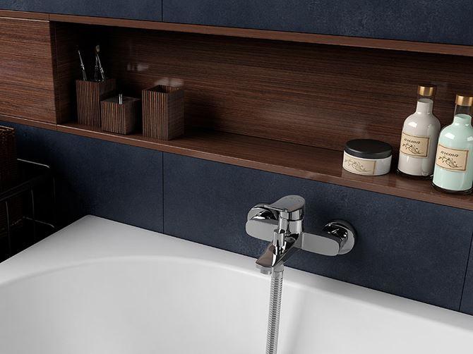 Drewniane akcesoria łazienkowe Ferro Wenge
