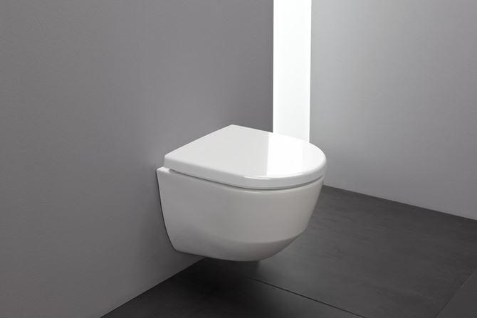Miska WC podwieszana rimless krótka Laufen Pro