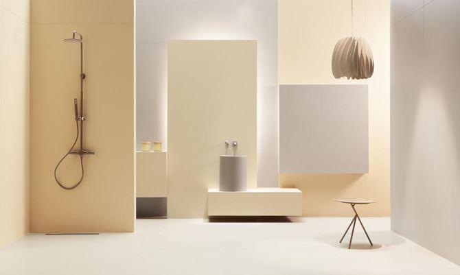 Tubądzin Cielo e Terra - aranżacja łazienki