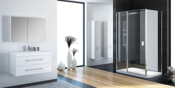 Aranżacja łazienki w nowoczesnym wydaniu New Trendy Perfecta