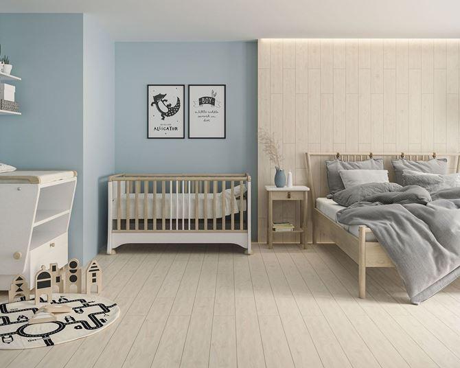 Sypialnia z pokoikiem dziecięcym
