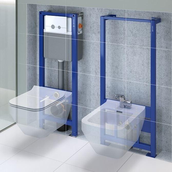 toaleta i bidet zawieszany ze stelażem podtynkowym cersanit aqua