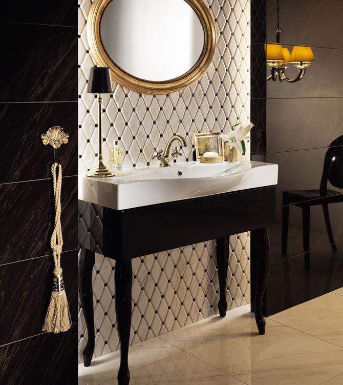 Łazienka glamour Tubądzin Larda
