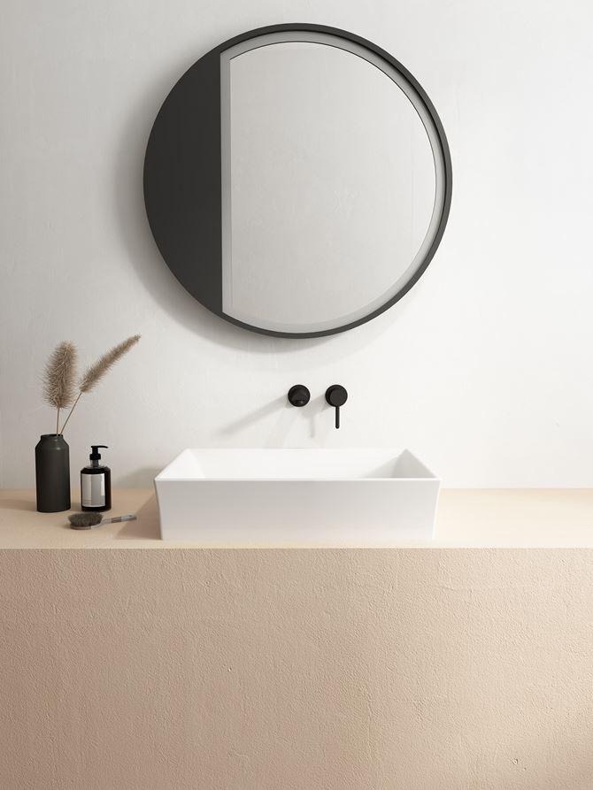 Prostokątna umywalka z serii Bocchi Vessel