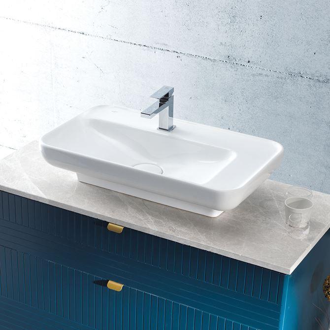 Aranżacja umywalka meblowa CeraStyle Lal 072300-u
