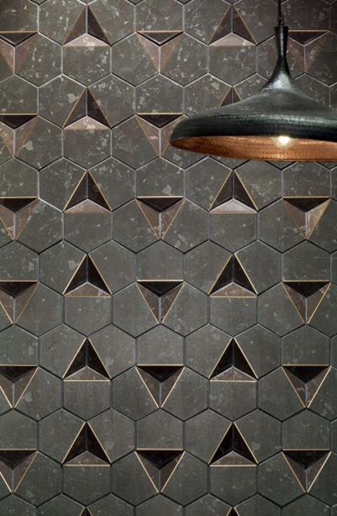 Tubądzin scoria detal mozaiki