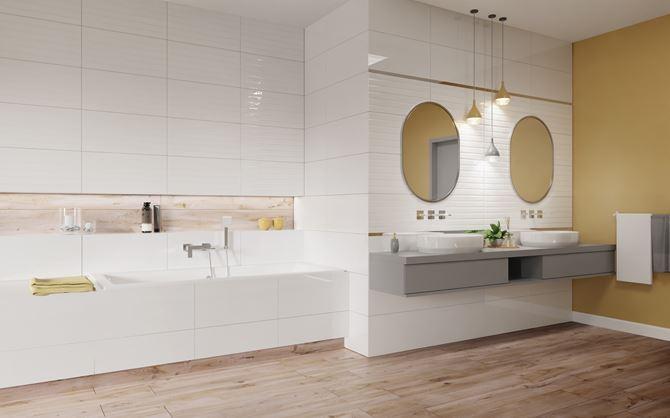 Aranżacja białej łazienki Vijo Neo