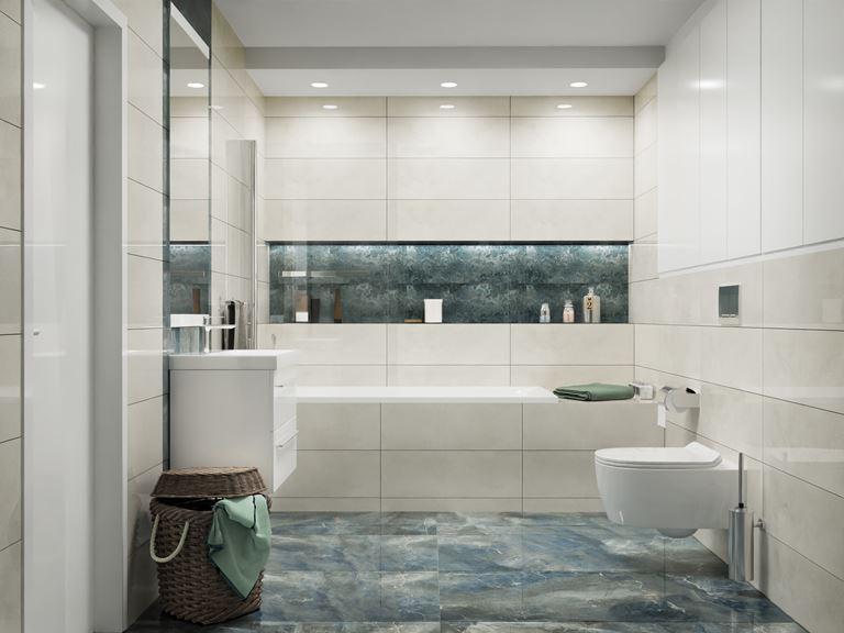 Nowoczesna łazienka w kolorze szarym Vijo Moretti
