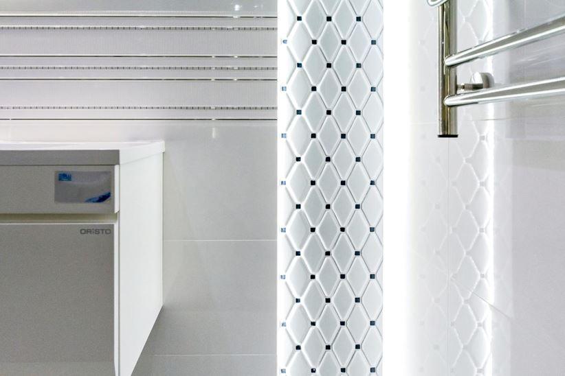Biała Mozaika W Eleganckim Wydaniu Tubądzin Abisso Domnipl
