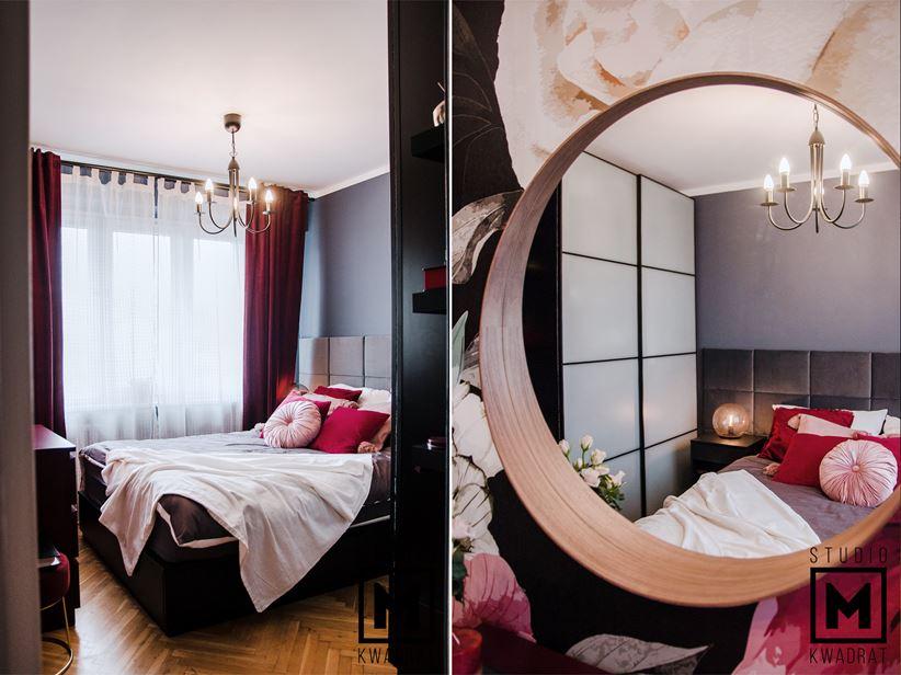 Detale przytulnej, kobiecej sypialni
