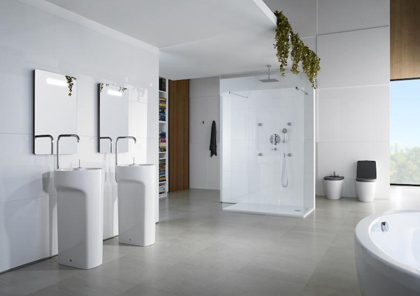 łazienka Dla Dwojga Z Umywalkami Wolnostojącymi Roca Amberes