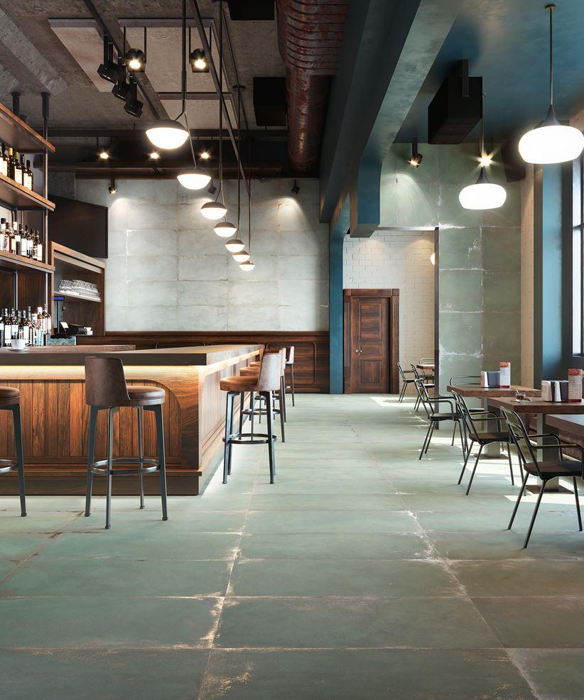 Aranżacja restauracji w stylu industrialnym
