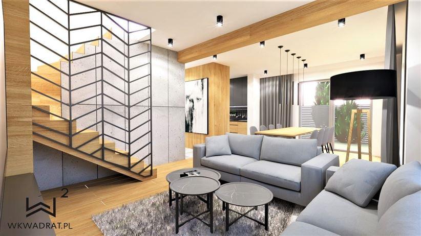 Styl loftowy - salon
