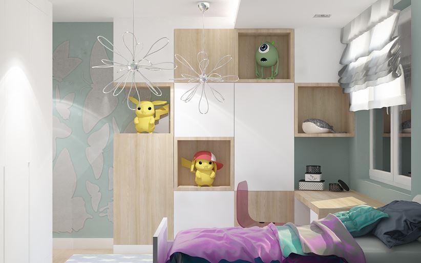 Pokój dziecka inspirowany bajkowymi motywami
