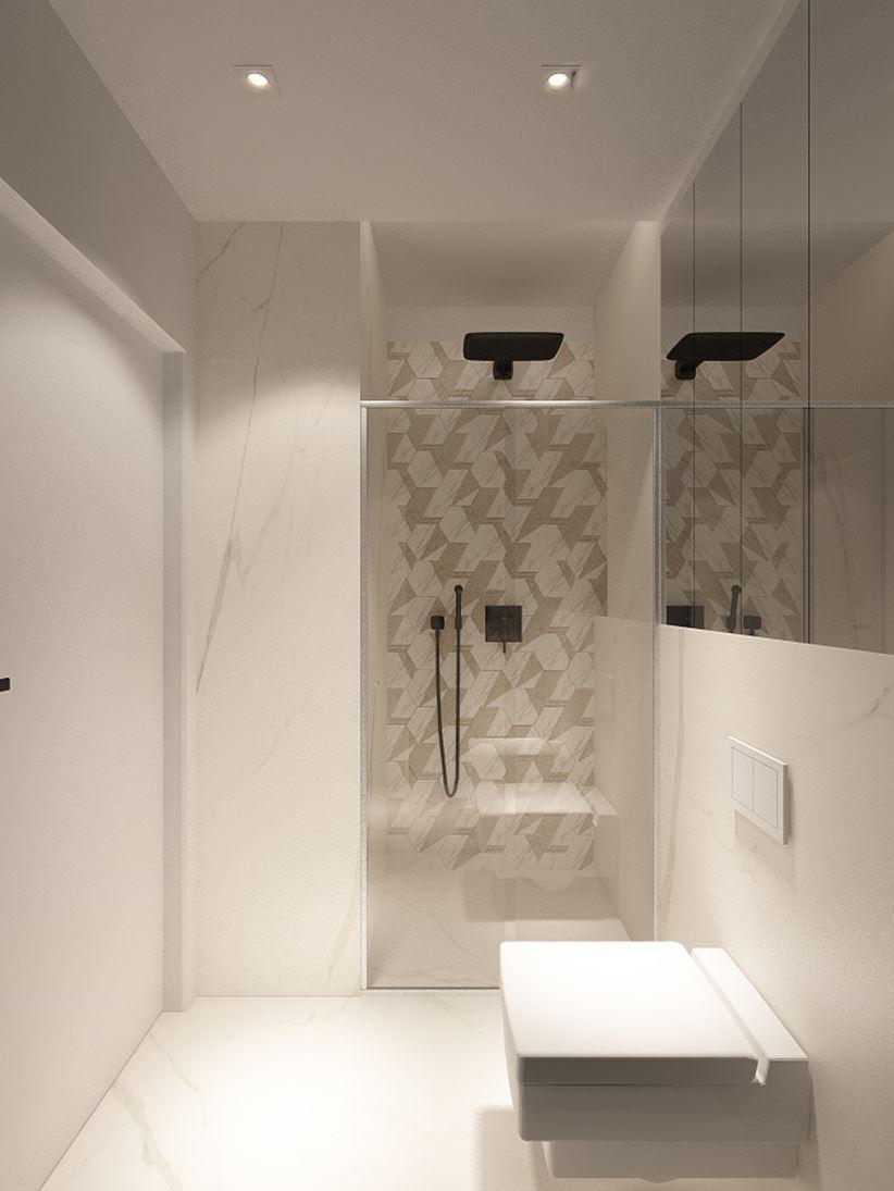 Łazienka bez wanny