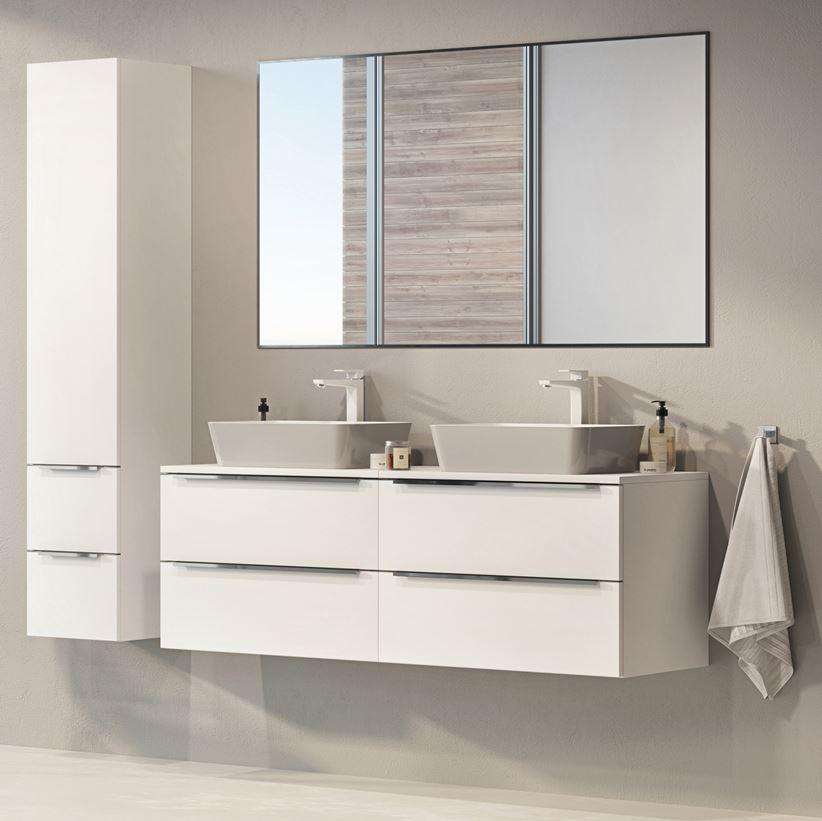 Białe meble łazienkowe Omnires
