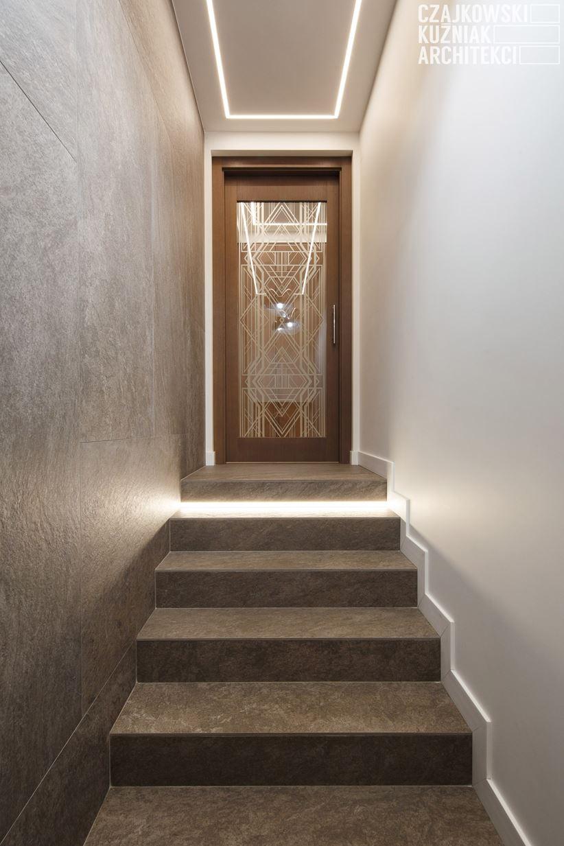 Pomysł na wąski korytarz wejściowy