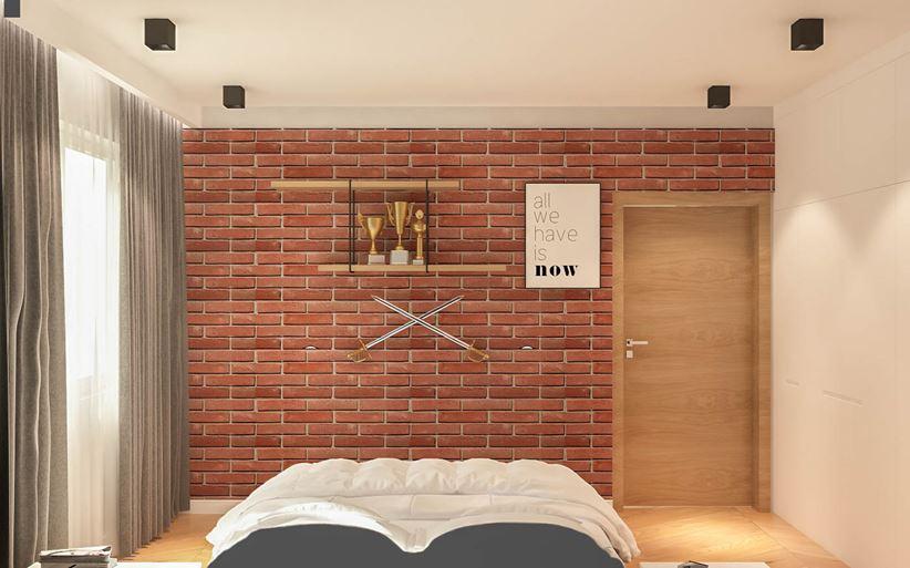 Mała sypialnia autorstwa Patryk Kowalski Design