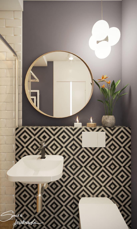 Pomysł na strefę umywalki w małej łazience