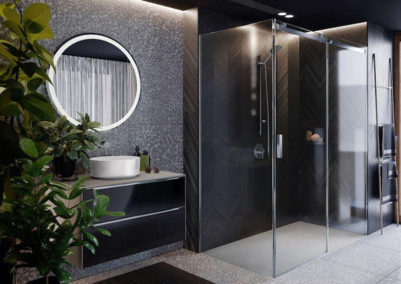 Aranżacja łazienki w ciemnych kolorach