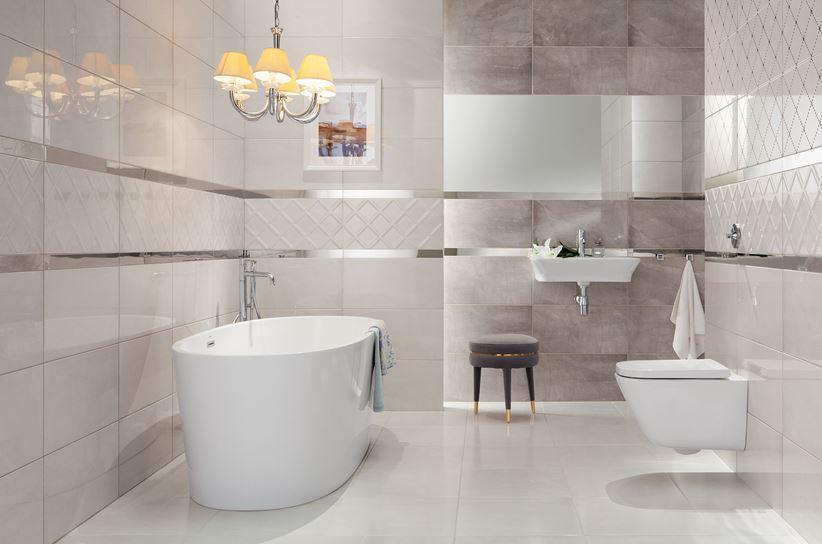 łazienka Na Wysoki Połysk Domino Idylla White Domnipl