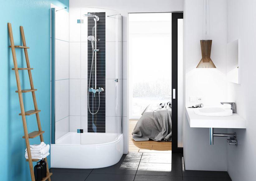 Aranżacja łazienki z wykorzystaniem kolekcji Dafne marki Schedpol